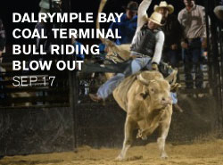 Dalrymple Bay Coal Terminal Bull Riding Blow Out
