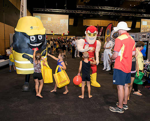 Optus Sports Expo and Sign-on Day
