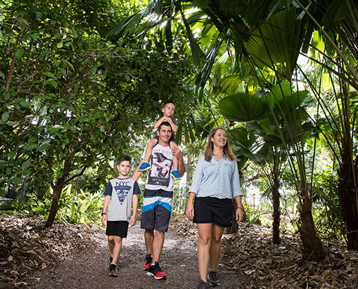 Self-guided kids activities at the Botanic Gardens