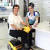 Happy-customer-on-scooter