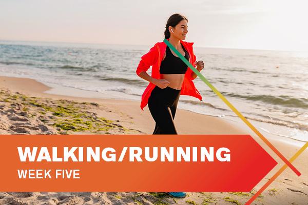 Walking Running