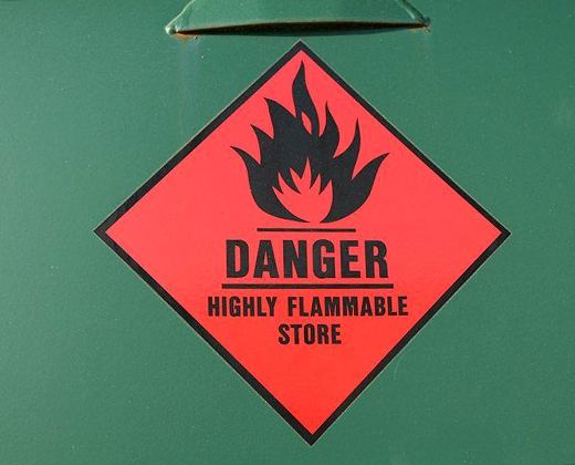 Flammable and combustible liquids licence