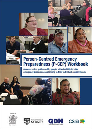 Front cover of the P-CEP workbook