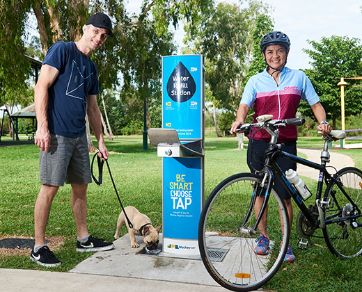 Water refill stations