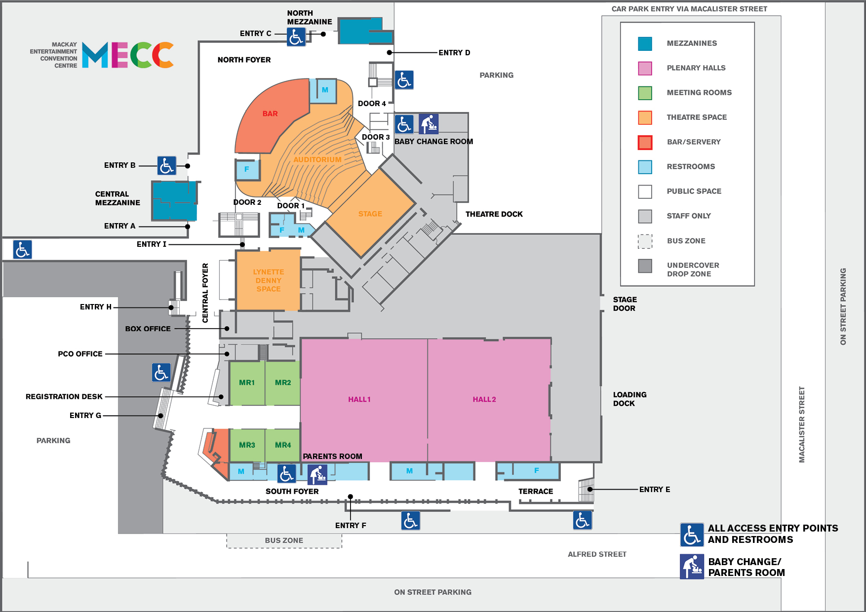 All Access Map