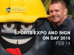 Sports Expo and Sign on Day 2016