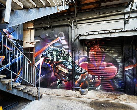 Fifth Lane street art