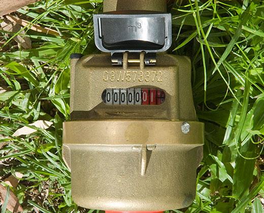 Reading your water meter