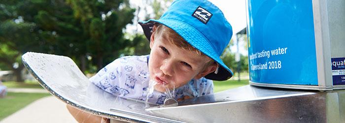 Mackay Regional Council - Water refill stations