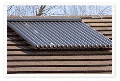 Install solar hot water