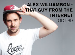 http://www.mackayecc.com.au/discover_whats_on/purchase_tickets_online/events/featured_events/alex_williamson_-_that_guy_from_the_internet