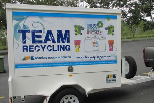 Waste-education-trailer