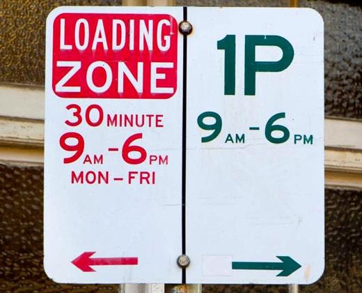 Loading zones