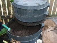 Compost and worm farm