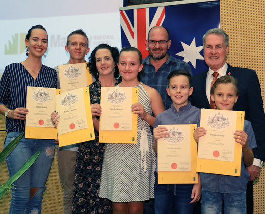 Citizenship ceremonies